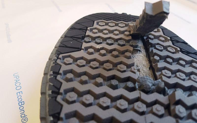 Footwear Ecobond sole