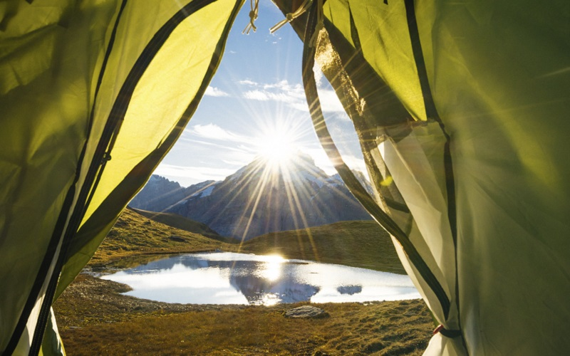 Performance Coated Fabrics for camping tents