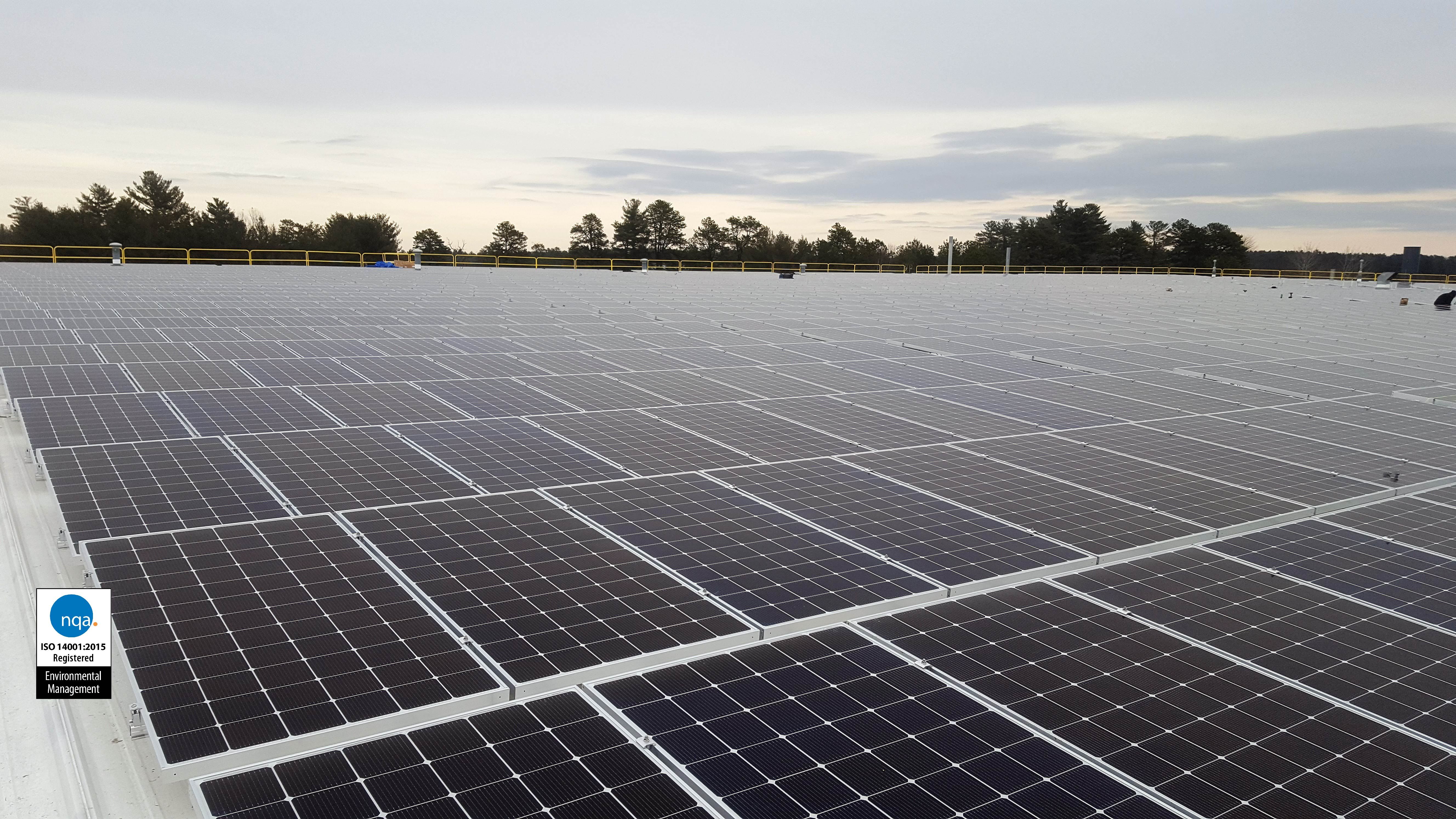 Solar Panel - ISO 14001
